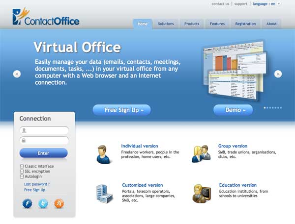 ContactOffice Website